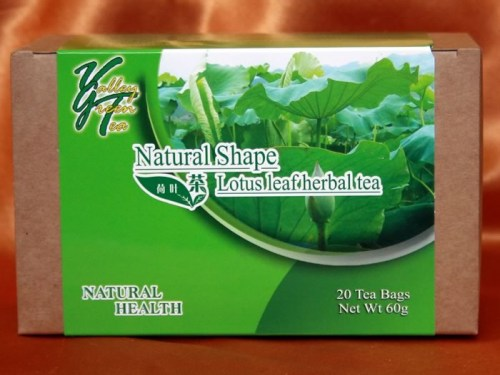slimming tea lotus leaf herbal tea