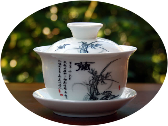 Gaiwan ink art series c