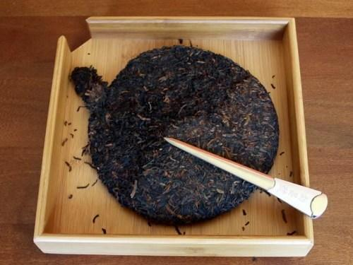 Pu-erh tea tray
