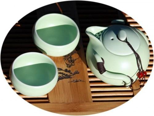 chinese tea set 3pecs green2