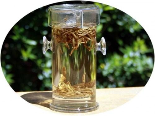 Kung Fu Glass Tea Infuser