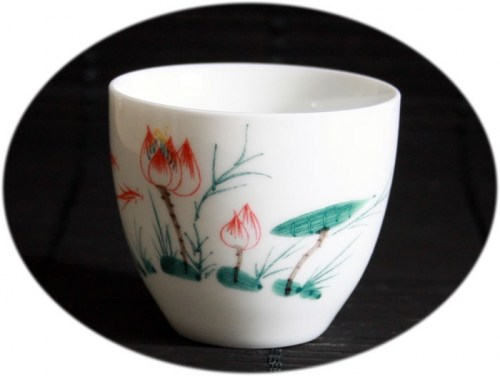 buy gong-fu tea cup Fine China Tea Cup E