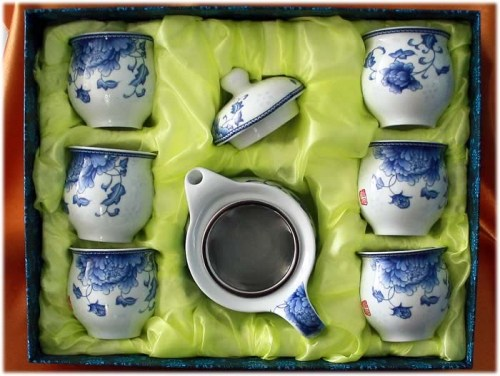 tea set 7s double layer A2