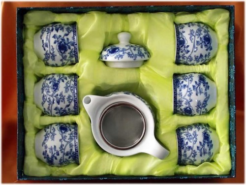 tea set 7s double layer B2