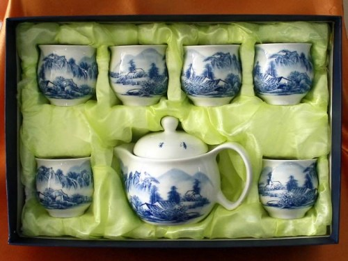 tea set 7s double layer C2