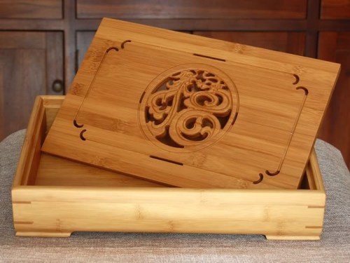 tea tray bamboo A5