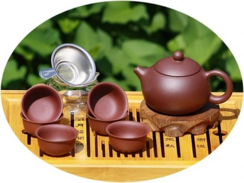 Chinese tea set yixing zisha tea set B