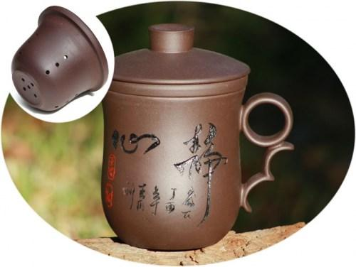 buy ZiSha tea mug with infuser C