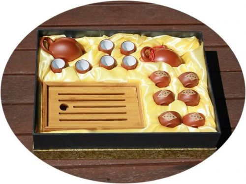 zisha tea set bamboo tray2