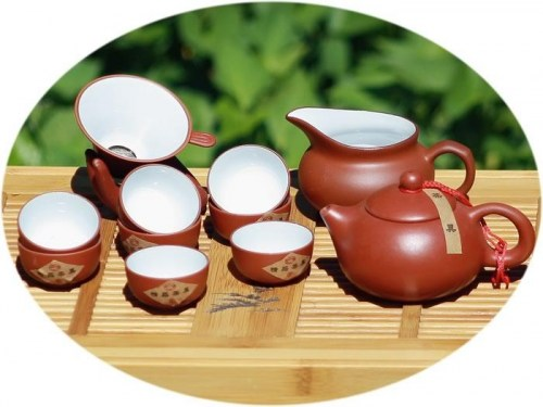 Chinese tea set ZiSha Chinese tea set c