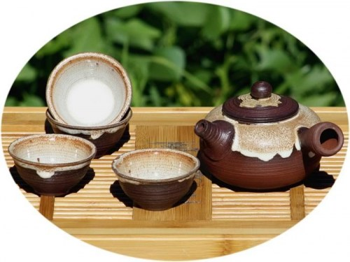 Chinese tea set ZiSha tea set antique style