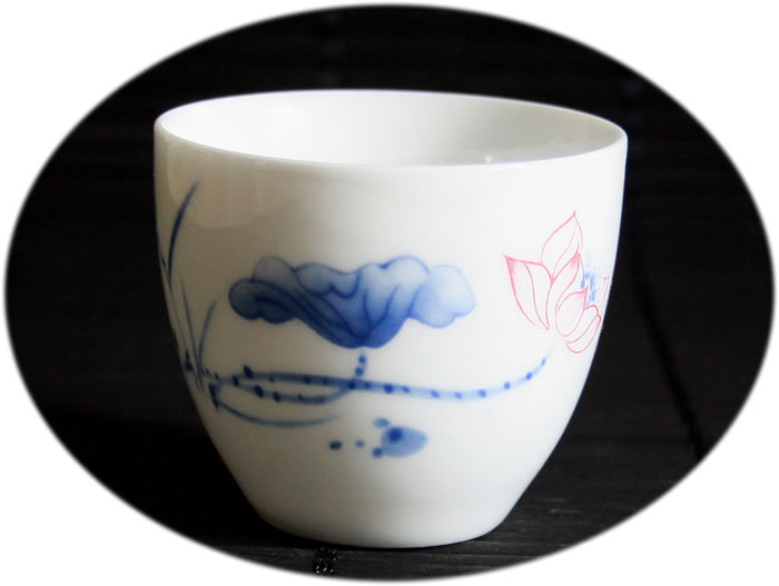 Fine China Gong Fu Tea Cup D