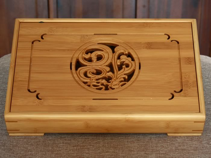 tea tray bamboo A