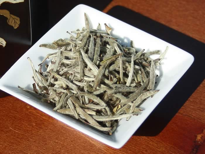 aged white tea silver needle 2012